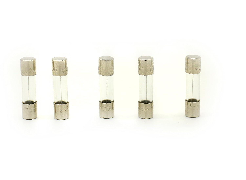 5 Qty Littelfuse F1.6AL250VP 1.6A 250V Fast-Blow GLASS Fuse 520MM