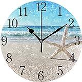 Wall Clock Arabic Numerals Design 微信图片 Cute Wet Shitzu Dog Round Wall Clock for Living Room Bathroom Home Decorative…