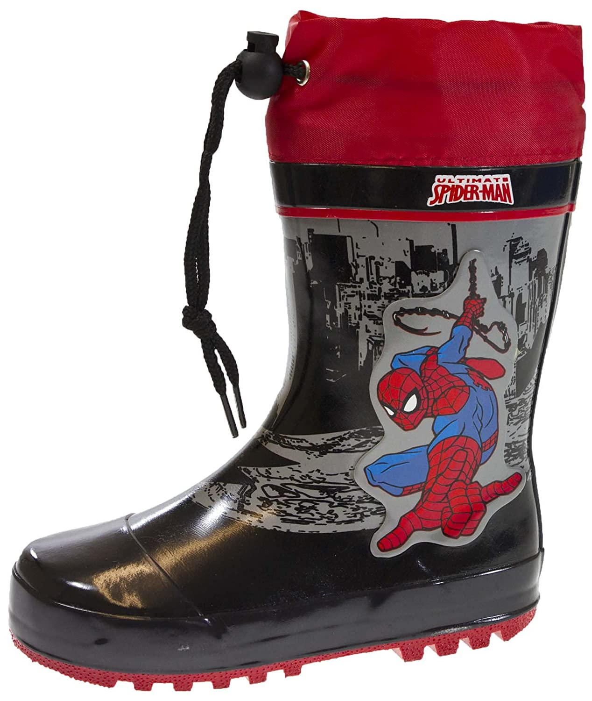 28f90a80fd0 Spiderman Childrens Wellington Boots