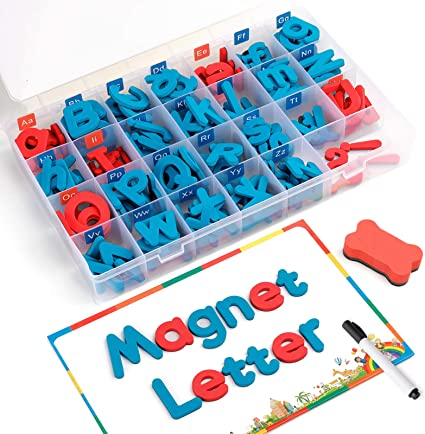Magnetic Letters and Numbers Gift Set ABC Magnets Educational Alphabet Magnets Toy for Preschool Toddler Fridge Refrigerator Toy