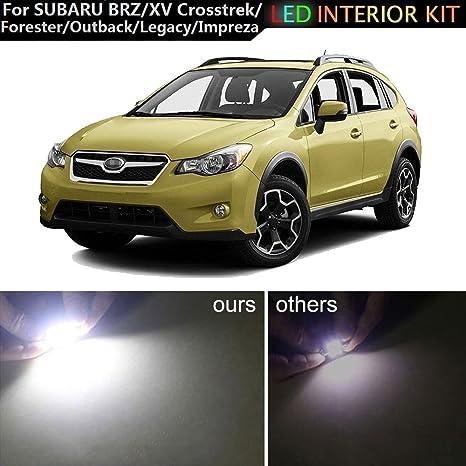 muchkey® para Subaru BRZ XV legado Impreza Outback Forester coche LED bombillas de repuesto de