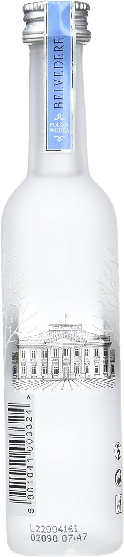 Botellita Miniatura Vodka Belvedere 5l: Amazon.es ...