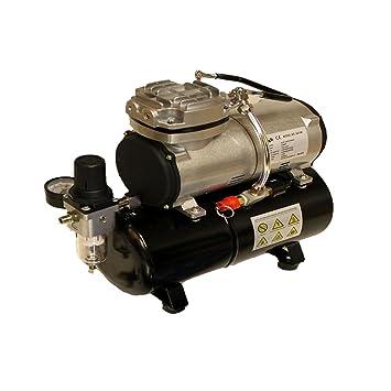 Airbrush Kompressor Airbrushpistole Kompressoren 1//6PS Abschaltautomatik 47dB DE