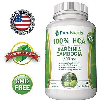 1500mg Pure Hca From Garcinia Cambogia Extract Extra Strength 100 Hca An Ultra Effective