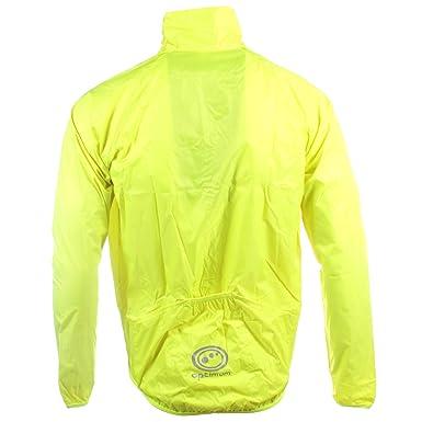 Optimum Mens Lightweight Hi-Vis Rain Jacket Running Cycling: Amazon.co.uk:  Clothing