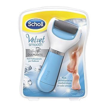 Scholl Velvet Smooth Roll Pedicure Elettrico Professionale per Pelle Secca a01f573e13c