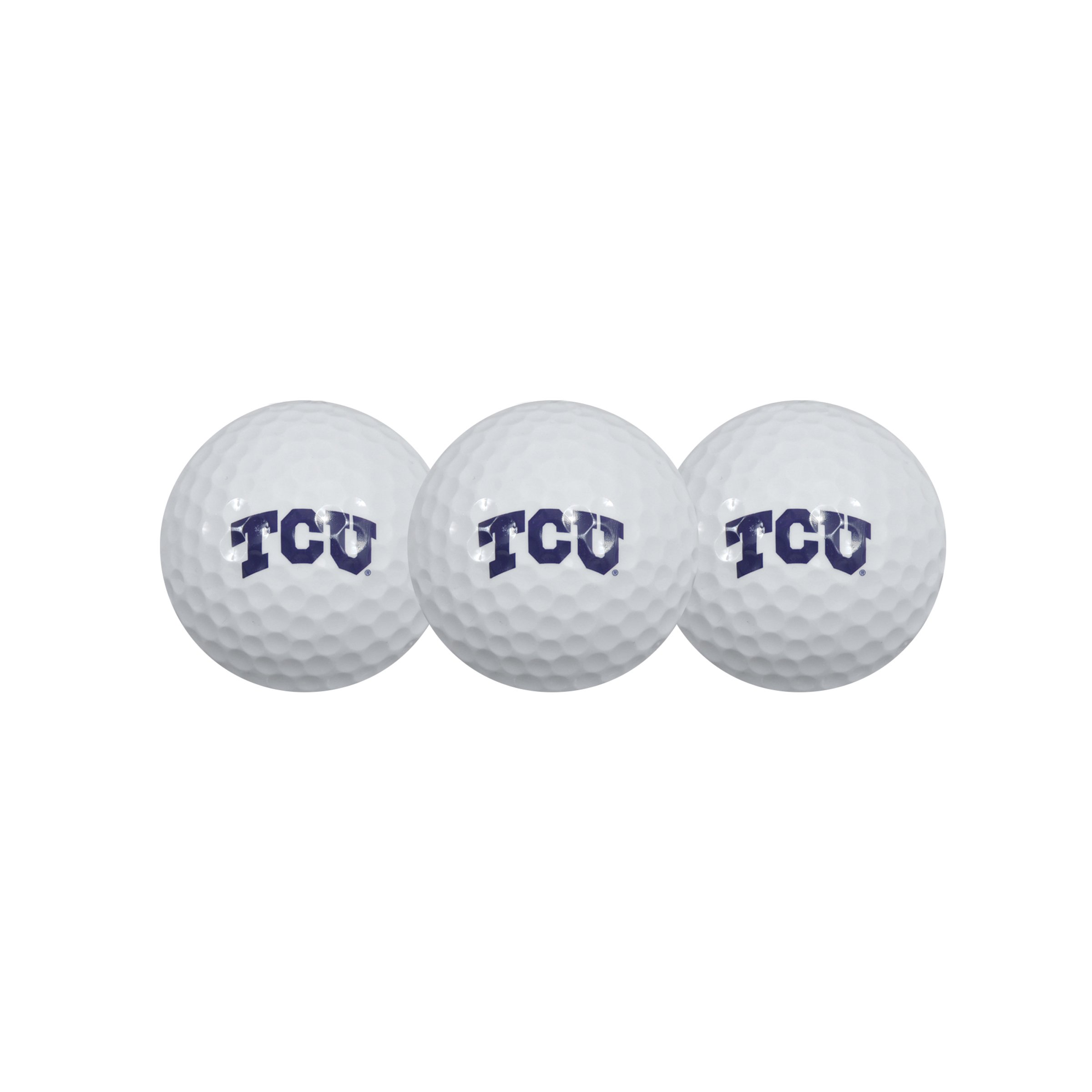Team Effort Texas Christian Horned Frogs Golf Ball 3 Pack by Team Effort