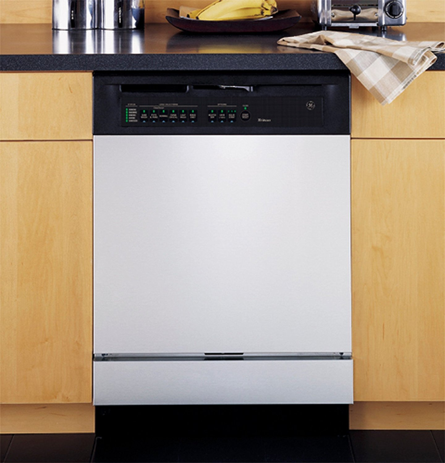 White Appliance Art Decorative Magnetic Dishwasher Front Panel Cover - Quick, Easy & Affordable DIY Kitchen Upgrade by Appliance Art