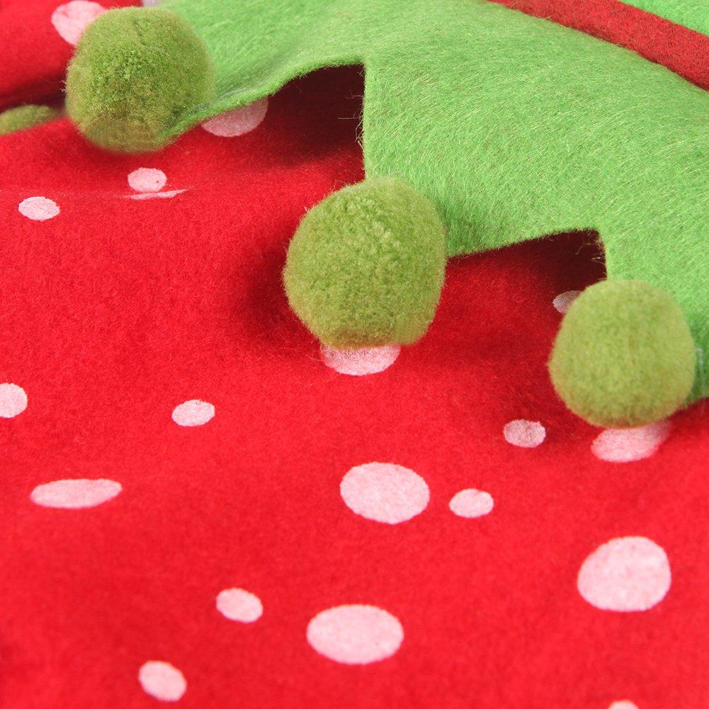 Lisli Christmas Holiday Stocking Elf Boots Shoes Santa Claus Gift Bag Xmas Tree Ornament Decor