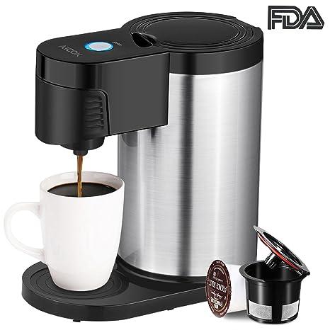 Amazon Aicok Single Serve Coffee Maker Single Cup Coffee Maker