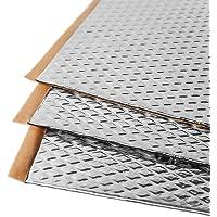 Noico 2 mm 1,7 m² zelfklevende anti-rammel trillingsdempende mat, auto akoestisch isolatie (lawaaireductie en…
