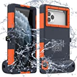 LANYOS Compatible for Samsung Galaxy and iPhone Series Professional [15m/50ft] Diving Snorkeling Photo Video Waterproof Case,