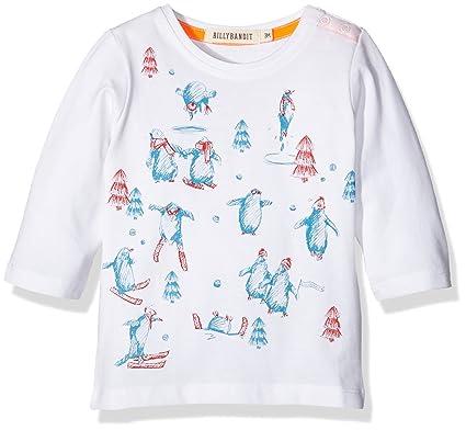Billy Bandit Billybandit Baby Boys 0 24m V05073 T Shirt White 6 9
