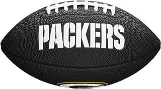 Wilson Sporting Goods NFL Green Bay Packers Logo de l'équipe de Football, Noir, Mini Taille Wilson Sporting Goods - Team WTF1533BLIDGB