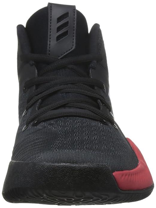 adidas Mad Bounce, Scarpe da Basket Uomo, Nero (Cblack/Ftwwht/Sefrye Cblack/Ftwwht/Sefrye), 50 2/3 EU