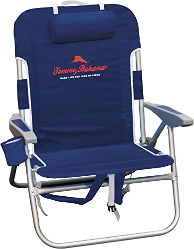 Tommy Bahama Big Boy Backpack Chair – Navy