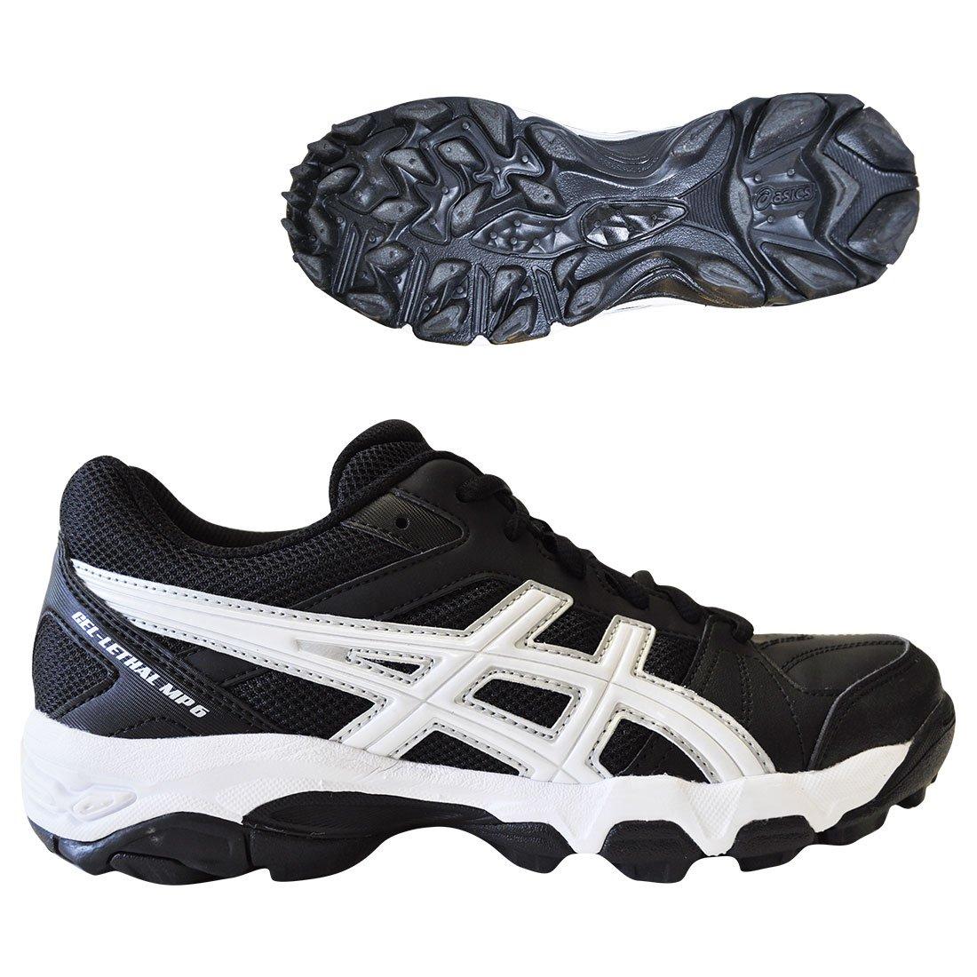 33bfae21f4fc ASICS Gel-Lethal MP6 Turf Shoe- Black White - Women s Size 7  Amazon.co.uk   Shoes   Bags