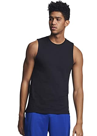 7547916a0b68 Amazon.com: Russell Athletic Men's Essential Muscle T-Shirt: Clothing