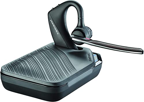 Plantronics VOYAGER-5200-UC 206110-101 Advanced NC Bluetooth Headsets System,Black