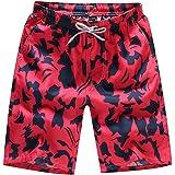 zycShang Pantalones cortos de baño para hombre Pantalones de agua para nadar de secado rápido en la playa Puro algodón  ocio…