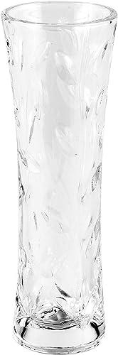 RCR Laurus Crystal Glass Decorative Flower Vase, 8
