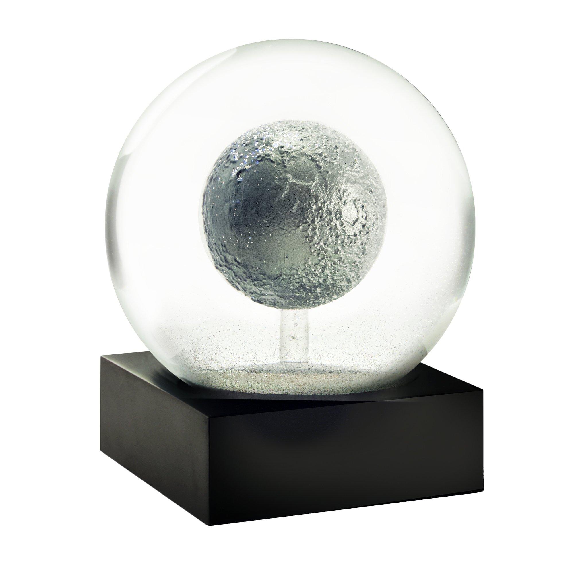 CoolSnowGlobes Moon Snow Globe