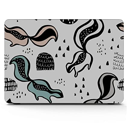 Macbookpro Case Spring Cartoon Skunk Flowers Leaf Plastic Hard Shell Compatible Mac Air 11 Pro 13 15 Computer Case Protection for MacBook 2016-2019 Version
