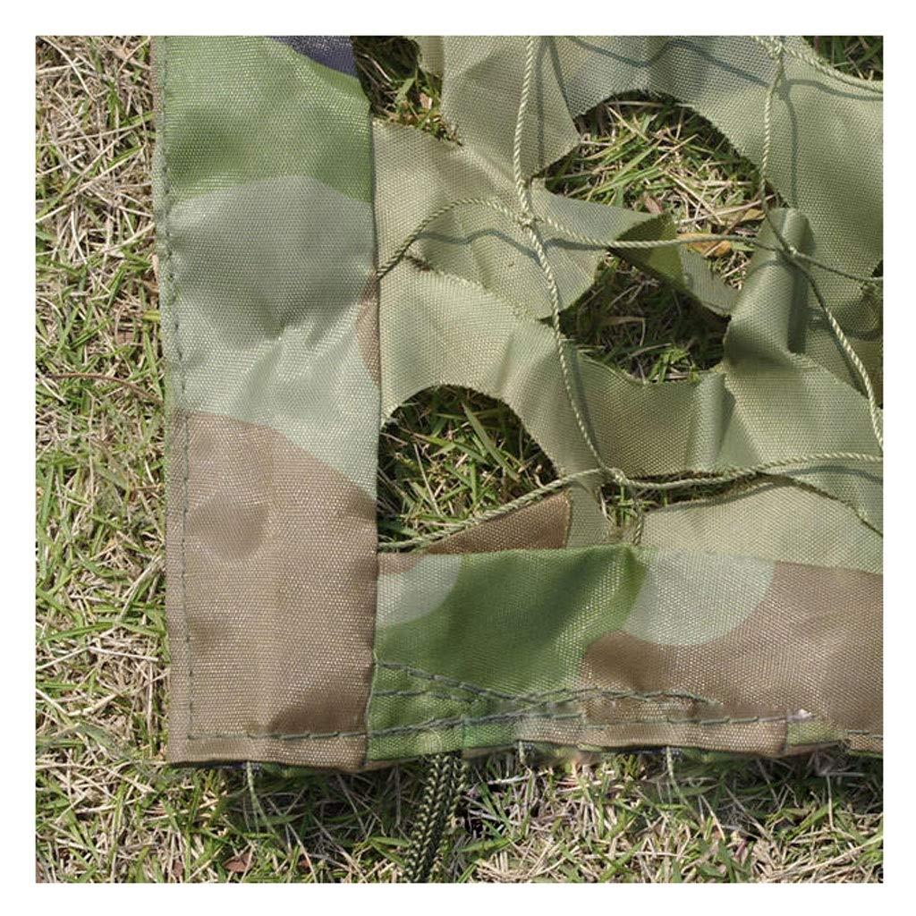 SJMWZW Woodland Camouflage Net Feld Tarnnetz Camping Jagd Schießen Sonnenschutzmittel Net Geeignet für die Jagd Feld Wüste Dschungel Outdoor-Aktivitäten Weihnachtsdekoration (größe   3  3m)