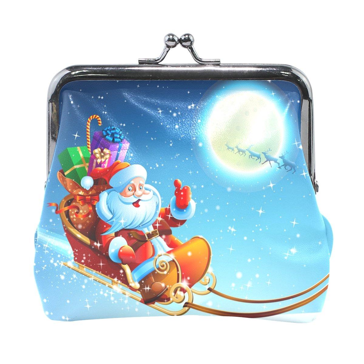 ALIREA レディース  Santa Claus in Sleigh B07CCH1HMP
