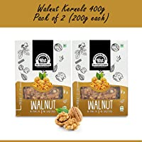 Wonderland California Walnut Kernels Premium Quality 400g Box (Pack of 2) (200g Each) (Snow White Color)
