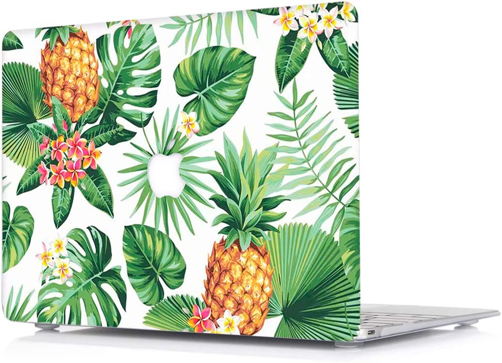 Hard Case for MacBook Pro 13 Inch with Retina Display Model A1502/A1425 - L2W Plastic Laptop Computers Accessories Cover Protective Tropical Plants Design Pattern Shell