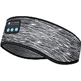 Sleep Headphones Bluetooth Headband, Wireless Music Sports Headband Headphones with Ultra-Thin HD Stereo Speakers, Workout Sp