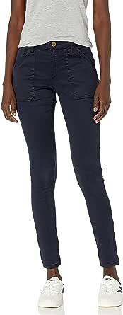Daily Ritual Amazon Brand Women's Sateen Skinny Utility Pant