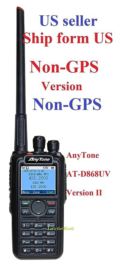 Amazon com: AnyTone AT-D868UV
