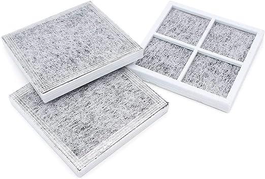 DingGreat 3 piezas de repuesto de filtro de aire fresco para ...