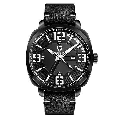 Écran LED montre de sport pour hommes et femmes, grande visage militaire montres lumineuses et chronomètre Alarme simples et l'armée