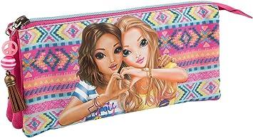 Depesche 6634 Compartimiento Estuche TOPModel, Ethno Color Rosa: Amazon.es: Juguetes y juegos