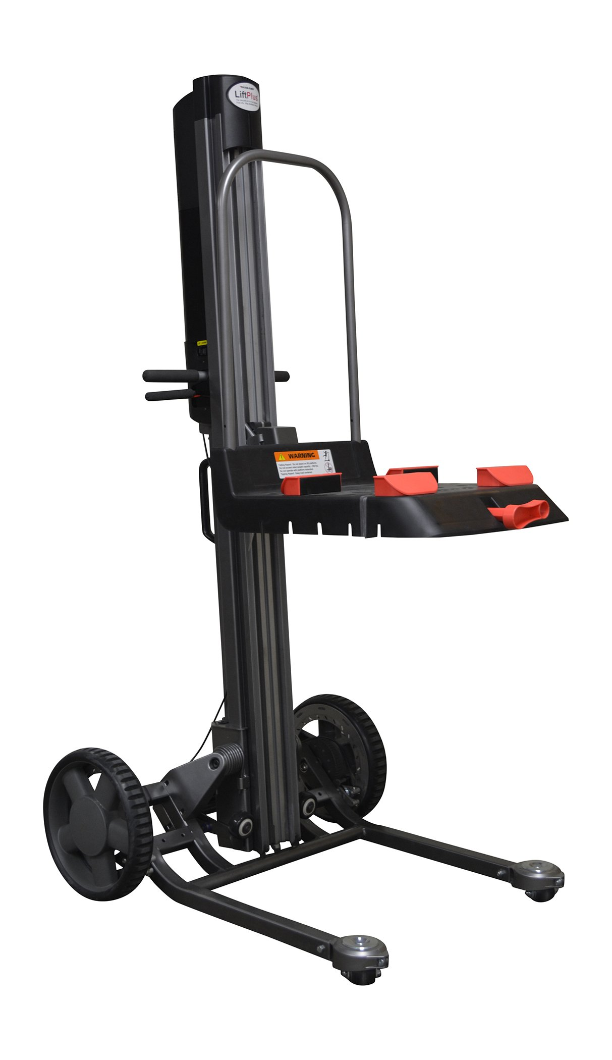 Magliner LPS4825NA1 Magline Liftplus with Work Bench Attachment, 48'' Lift Height, 350 lb. Capacity, 60'' Height, 33'' Width, 350 fl. oz. Lift Capacity by Magliner (Image #1)