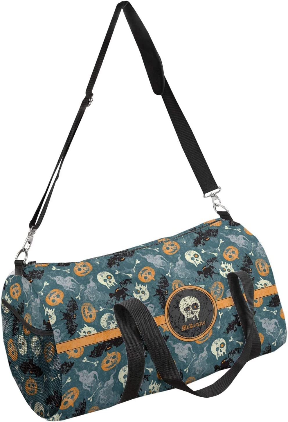 YouCustomizeIt Vintage//Grunge Halloween Duffel Bag Personalized