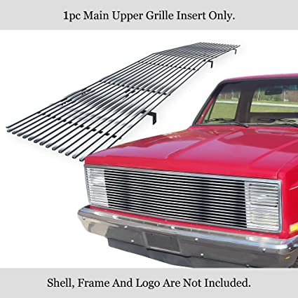 APS C85202A Polished Aluminum Billet Grille Replacement for select Chevrolet Blazer Models
