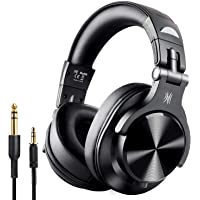 OneOdio A7 Fusion Bluetooth Over Ear Headphones, Studio DJ Headphones with Share-Port, Wired and Wireless Professional…