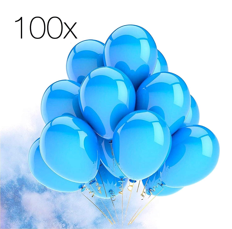 50x Luftballons /Ø 30 cm Luftballons Luftballon Ballons Balloons Ballon purple lila violett gro/ße Latexballons f/ür Helium purple Kinder /& Erwachsene Dekoration Geburtstag Set Luft