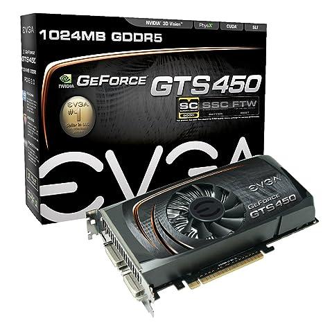 EVGA 01G-P3-1452-TR GeForce GTS 450 1GB GDDR5 - Tarjeta ...