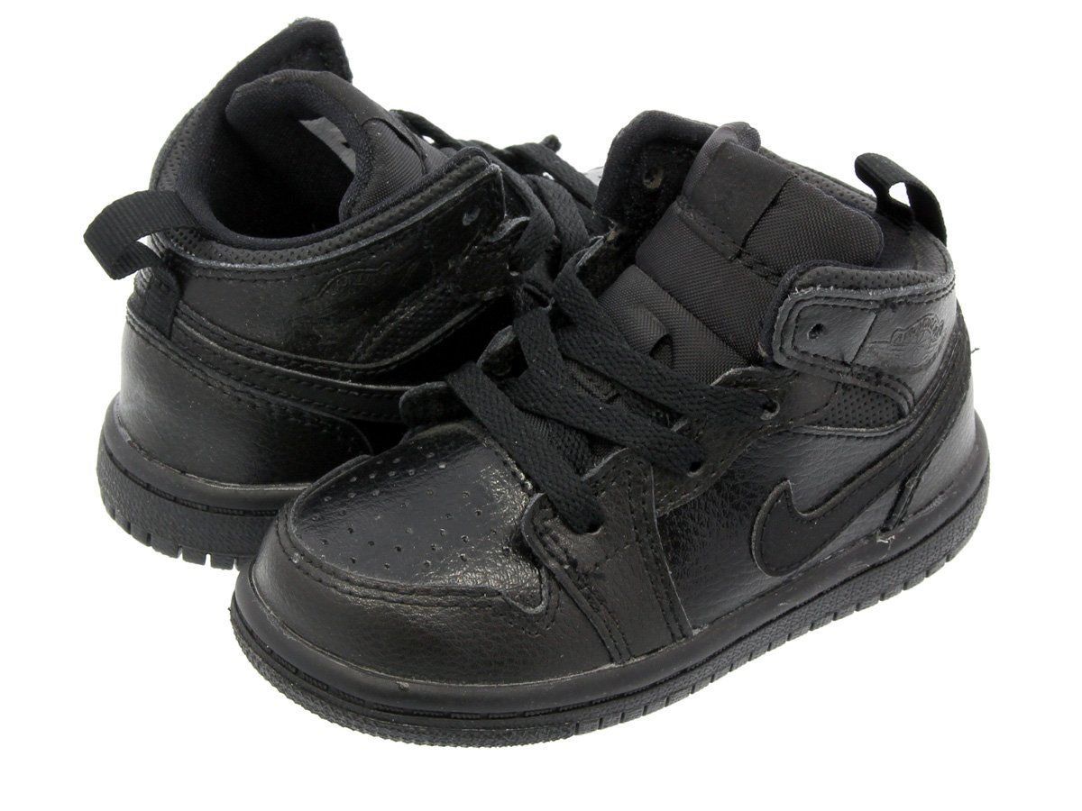 Toddler Air Jordan Retro 1 Mid Basketball Shoes (9c)