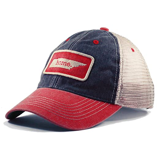 separation shoes bf7f1 c30b3 ... reduced homeland tees mens tennessee home mesh trucker hat blue red two  toned 97a7f 21364