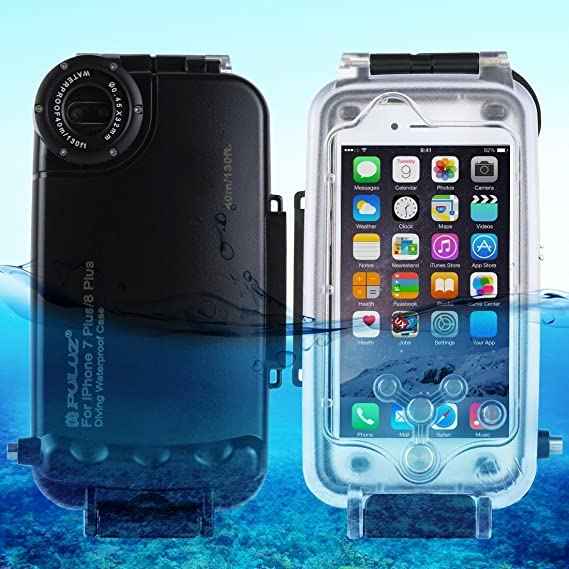 newest daff7 24909 HAWELL iPhone X/XS Diving Case, Professional [40m/130ft] Surfing Swimming  Snorkeling Photo Video Waterproof Protective Case Underwater Housing for ...