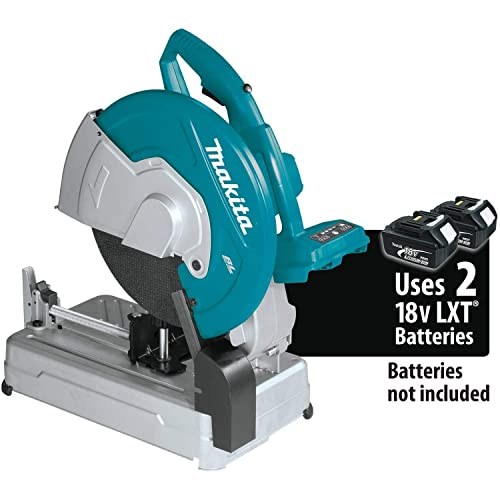 Makita XWL01Z 18V X2 LXT Lithium-Ion 36V Brushless Cordless 14 Cut-Off Saw, Bare Tool