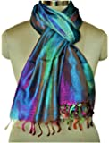 Indian Silk Scarf traditional ethnic wear for women stoles and shawls