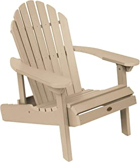 product image for highwood AD-CHL1-TAU Hamilton Folding and Reclining Adirondack Chair, Adult Size, Tuscan Taupe