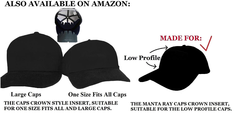 huge selection of 4f7ea f8ea5 Amazon.com   3Pk. Beige Manta Ray Baseball Caps Crown Inserts For Low  Profile Caps  Hat Shaper  Hat Stretcher  Hat Crown Stiffener  Flex-fit Hat  Support  ...